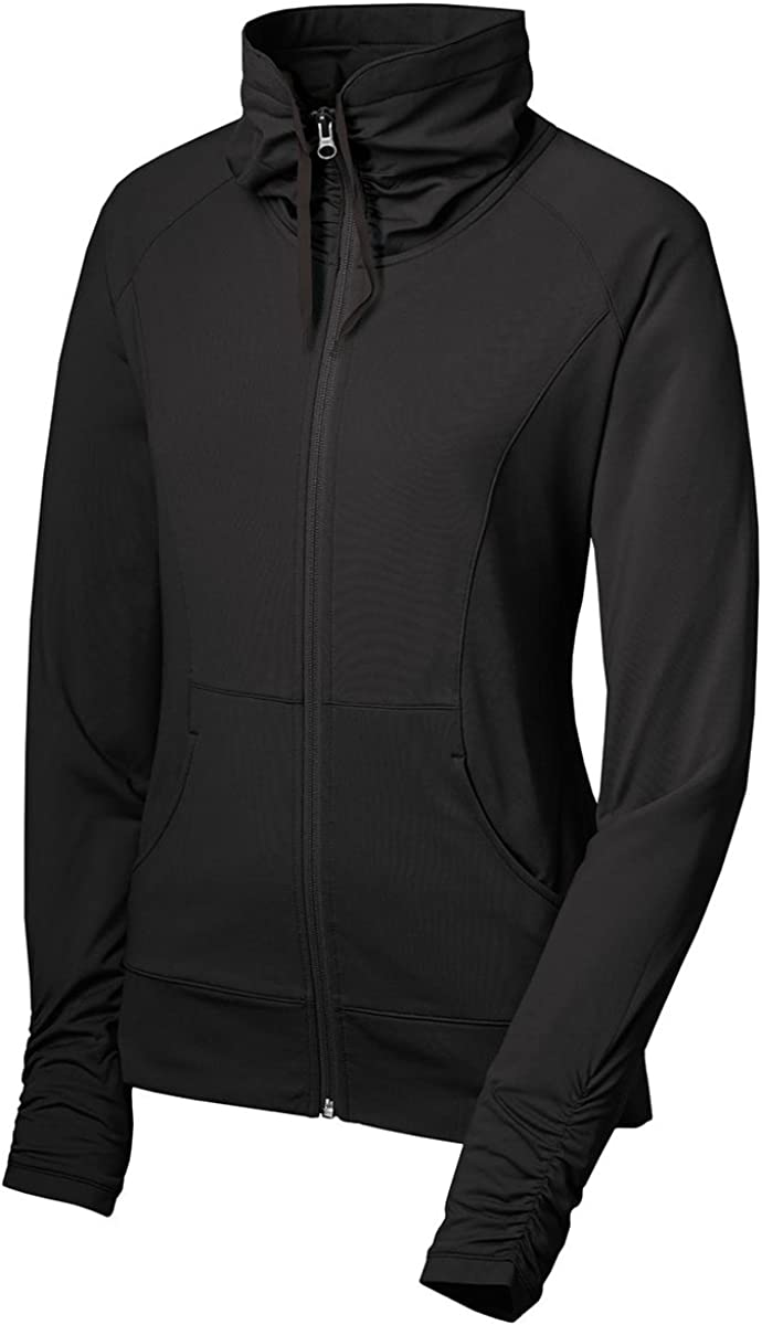 Sport Tek Women S Sport Wick Stretch Full Zip Jacket At Amazon Women S Clothing Store Minimum order quantity is 12 pieces. sport tek women s sport wick stretch full zip jacket