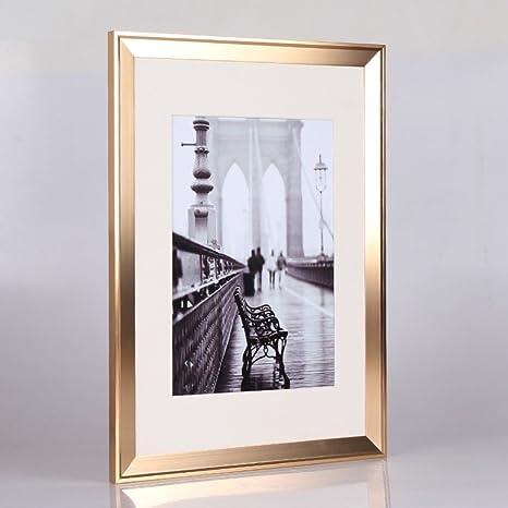Bbdsj Marco de Fotos,Marco de Aluminio,Portaretrato Simple Familia ...