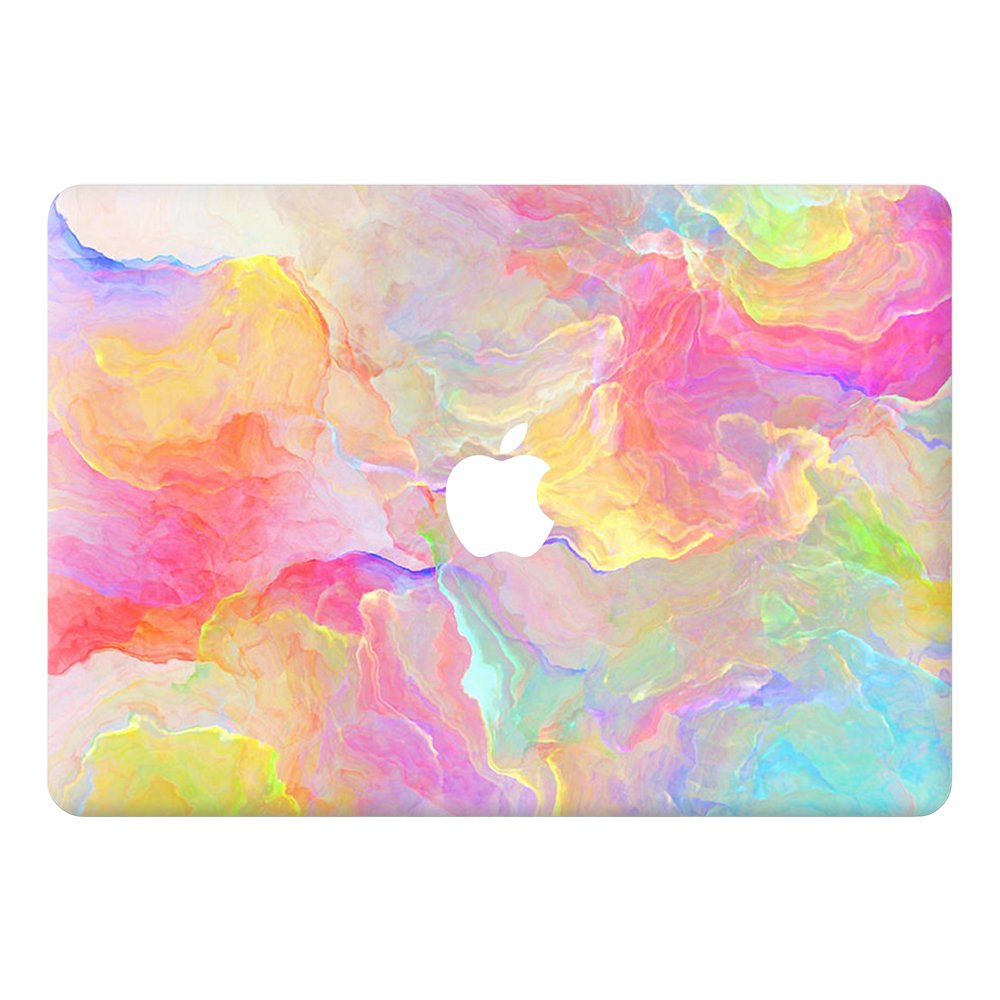 Amazon com coco and toffee pastel bomb highest grade vinyl skin sticker compatible with macbook air 13 a1369 a1466 computers accessories
