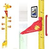 UCMD Removable Giraffe Height Growth Chart,3D Height Measuring Ruler,Children's Room Baby Nursery Decoration Wall…