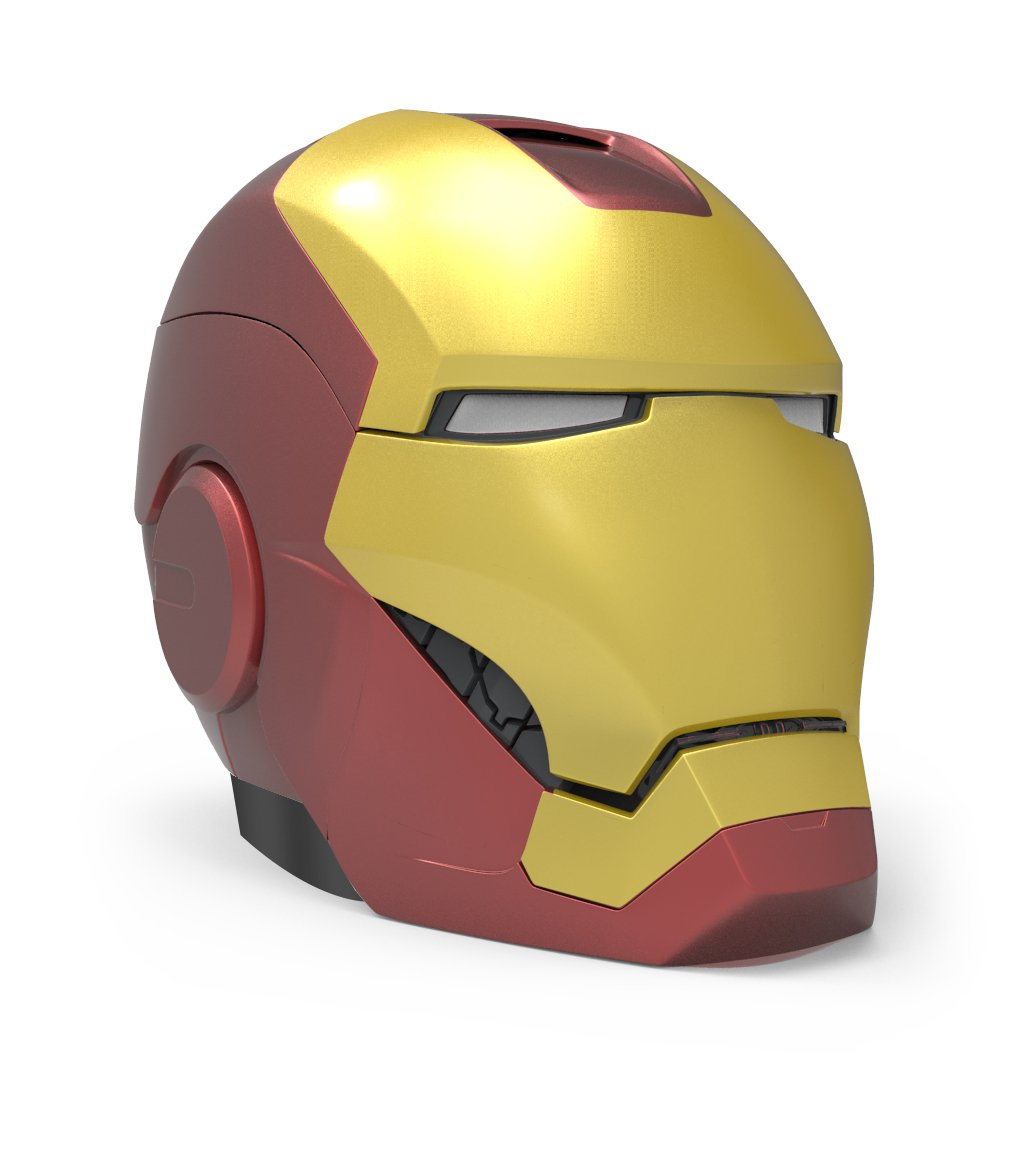 Captain America Civil War Iron Man Helmet Bluetooth Speaker: Amazon.es: Electrónica