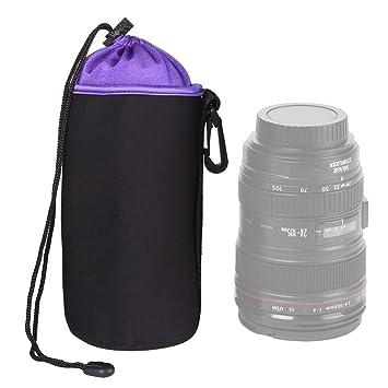 Bolsa de lente de la cámara reflex de lente en min La bilis ...