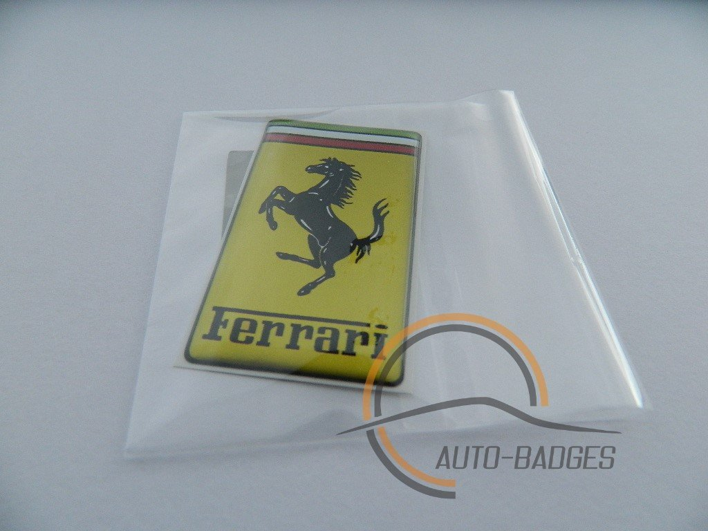 distintivo laterale classic vintage Distintivi Ferrari distintivo per bagagliaio