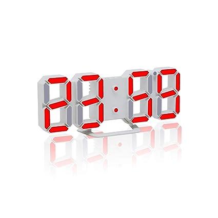 Amazon.com: wing Alarm Clocks Desktop Table Digital Watch Wall ...