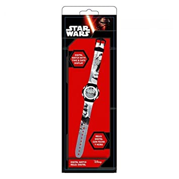 Kids Licensing nbsp;SWE70221 - Reloj digital Storm Trooper, Star Wars VII: Amazon.es: Juguetes y juegos