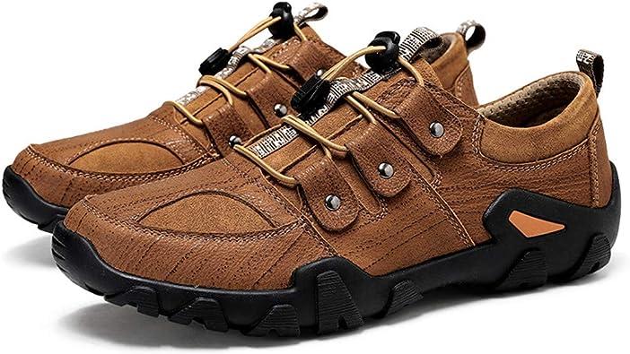 Zapatos de Senderismo para Hombre al Aire Libre Trekking Moda ...