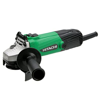 Hitachi G12SS 4-1/2-Inch 5-Amp Angle Grinder with Lock-On Trigger