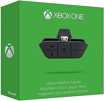 Auriculares Audio Micrófono estéreo auriculares adaptador para Xbox One Controller – Negro: Amazon.es: Electrónica