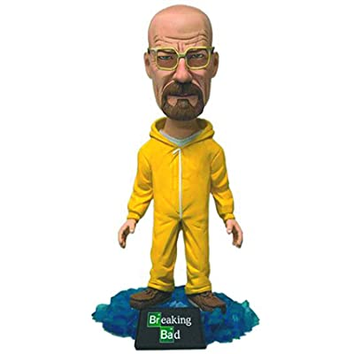 "Mezco Toyz Breaking Bad Bobblehead Walter 6"" Action Figure: Toys & Games"