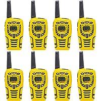 Cobra 28 Mile 22 Channel Walkie Talkie VOX NOAA Receiver Radios CX445 (4 Pairs)