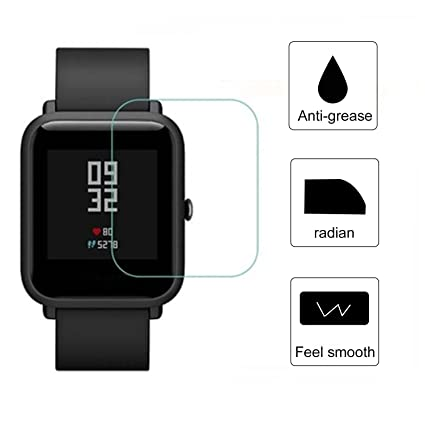 for Xiaomi Huami Watch Screen Protector, Soft TPU HD Clear Smart Watch Screen Protector Film