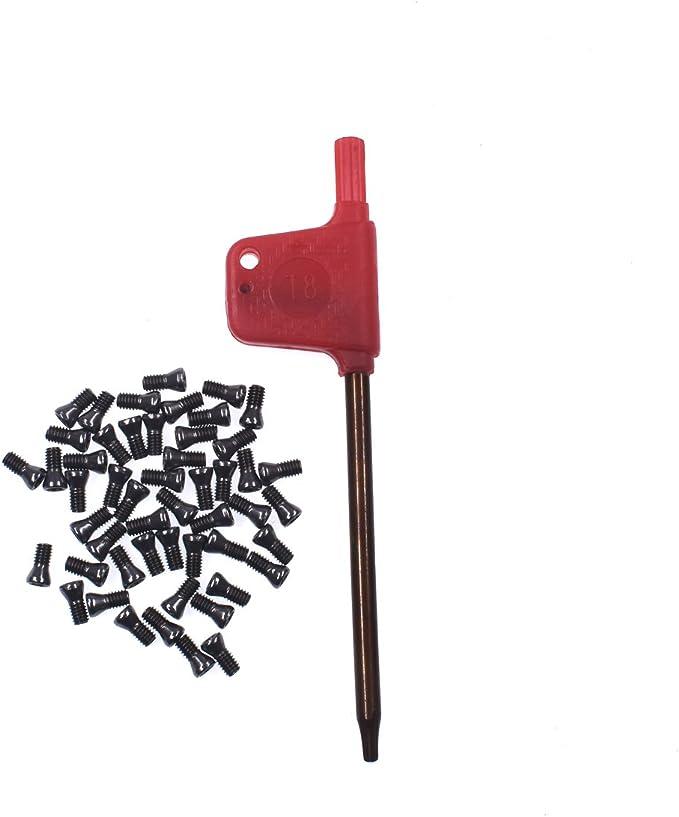 20pcs M2.2 x 6mm Insert Torx Screw for Carbide Inserts Lathe Tool /& Screwdriver