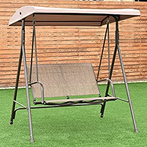 COLIBROX--Outdoor 2 Person Patio Backyard Porch Swing Hammock Bench Loveseat W/Canopy NEW,porch swings for sale,outside swings,outdoor wooden swings,outside swings,Stylishl porch swings for sale