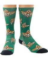 Offizielle Nintendo Zelda Crest Sublimated Crew Socken - Einheitsgrösse