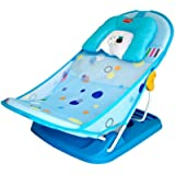 LuvLap Hippo Dippo Compact Baby Bather - Bath Seat