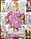 ever after high coloring books coloring book vol 1 2 stress relieving coloring book