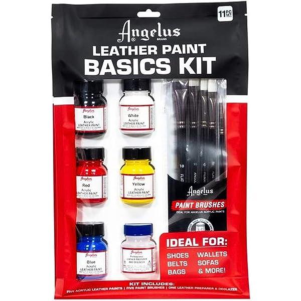 Amazon.com: Angelus Leather Paint Set