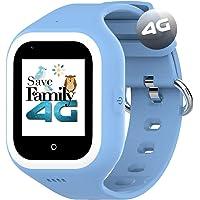 Reloj-Smartwatch 4G Iconic con Videollamada & GPS instantáneo para niños SaveFamily. Reloj con WiFi, Bluetooth, cámara…