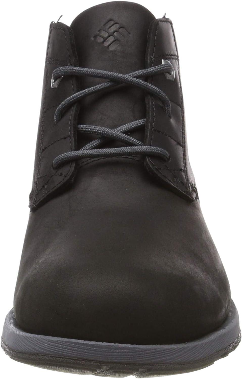 Columbia Grixsen Chukka WP, Chaussures Casual Homme Noir Black Graphite