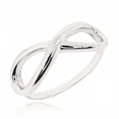 Amazon Sovats Infinity Symbol Wedding Band Engagement Ring For