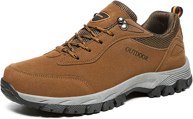 JIANKE Mens Hiking Shoes Outdoor