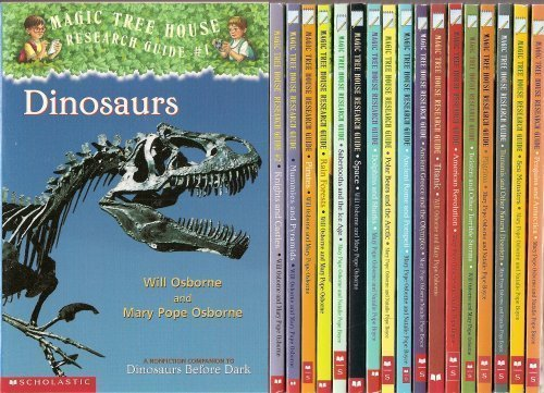 The Magic Tree House Research Guide 18-Book Set (American Revolution, Ancient Greece and the Olympics, Ancient Rome and