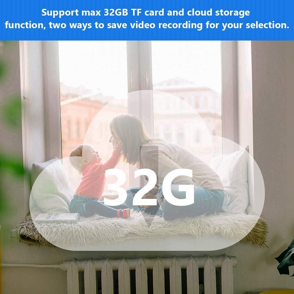 Timbre Video Inal/ámbrico 720p WiFi Cat Eyes Visor de 4,3 Pulgadas LCD Digital de 166 Grados Mirilla con Visi/ón Nocturna//Audio Bidireccional//Detecci/ón de Movimiento Pir