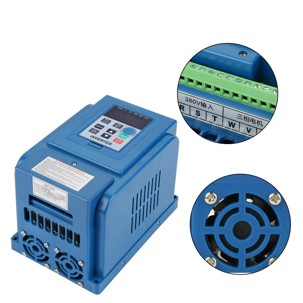 Frecuencia VFD Inverter 2.2/KW 400/Hz 220/V380vac Frecuencia Inverter VFD velocidad probada Variador Digital invertitore Inverter accionamiento de frecuencia trif/ásico