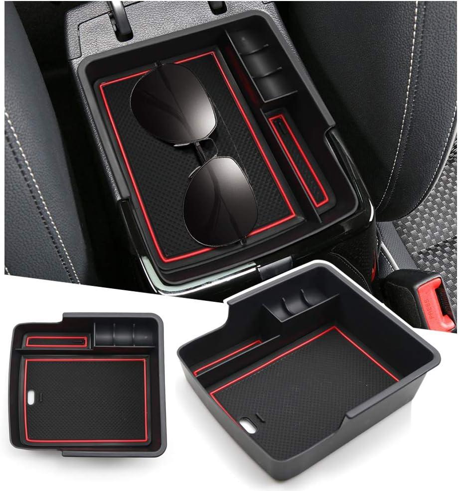 RUIYA pour console centrale Ceed ProCeed GT Bo/îte de rangement pour accoudoir de voiture