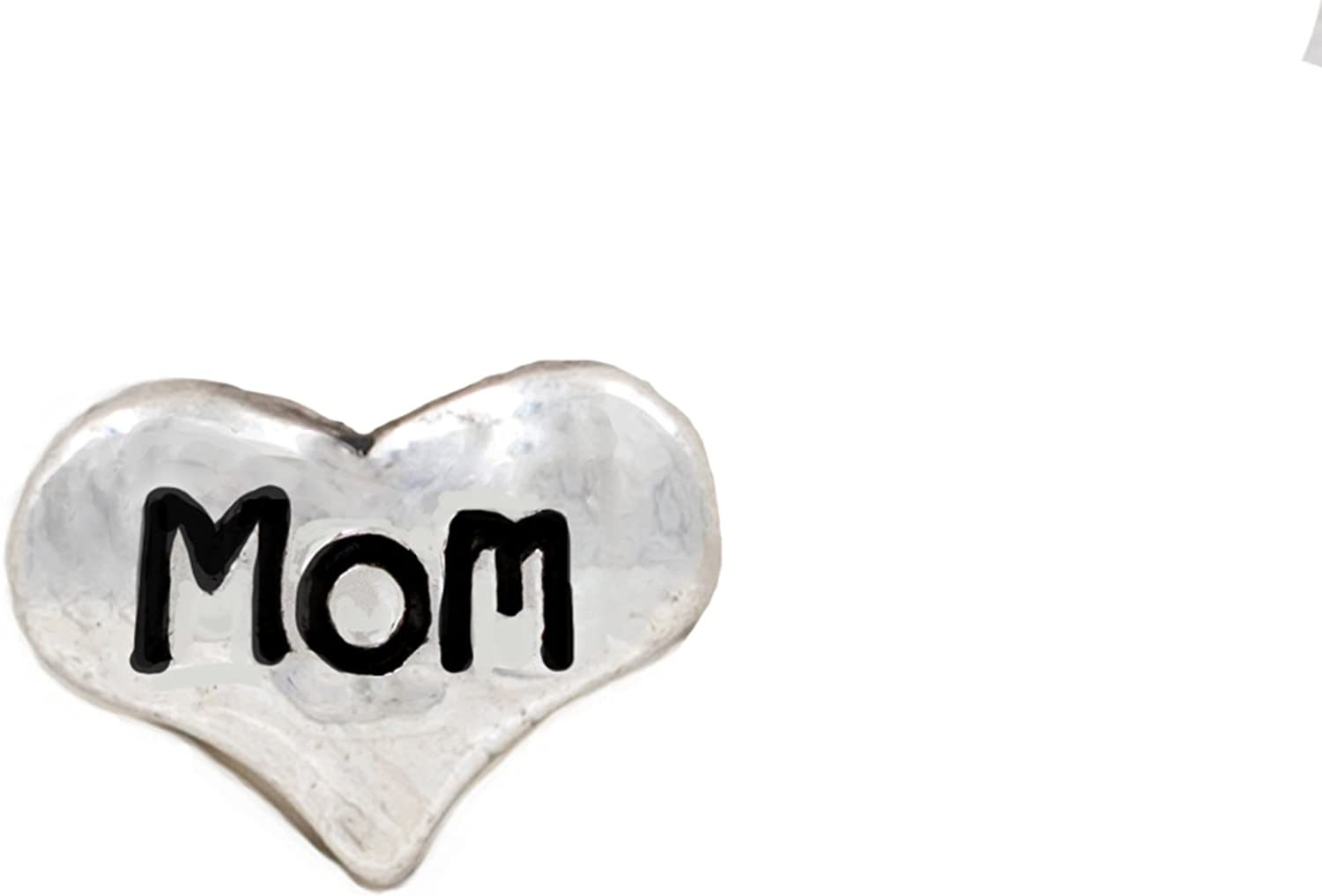iPops Single Pack Mom Heart Fitbit/Apple Watch Band Charm