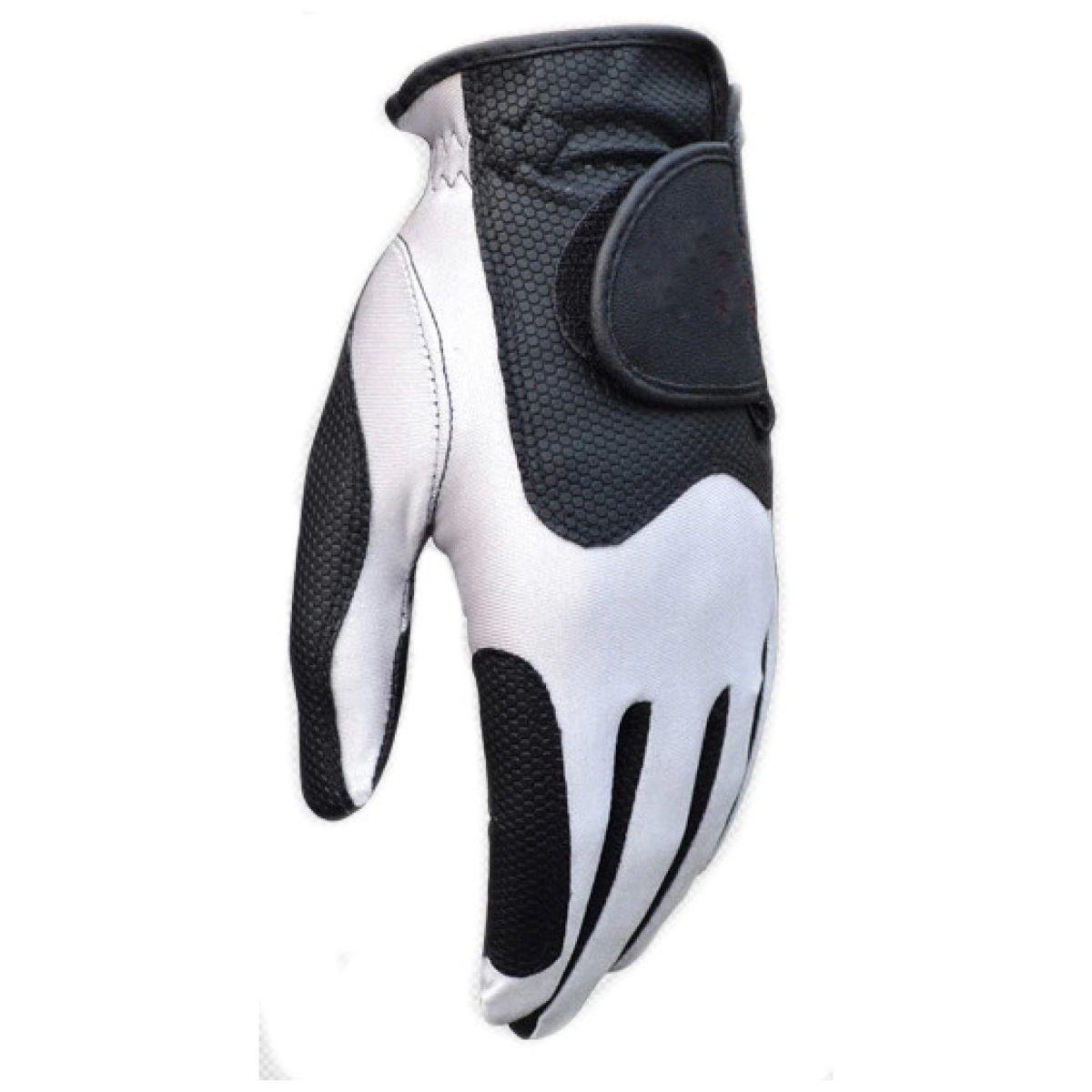 BFMEI Volle Finger-Handschuhe Für Motorrad Wandern Radfahren Outdoor Sports,Weiß-S