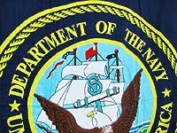 United States Navy Blue Beach Towel 60 x 30 USN by Things2Die4