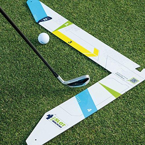 golf slot machine swing training aid