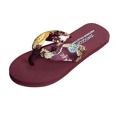 Women Sandals For Summer Anshinto Women Summer Sandals Slipper Indoor Outdoor Flip-flops Beach Shoes
