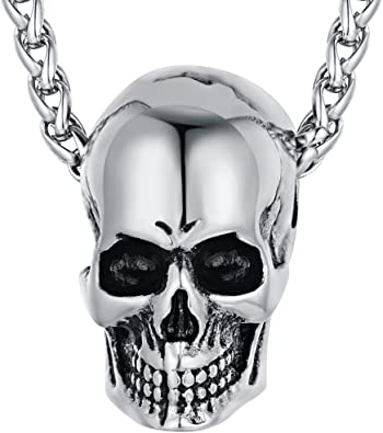 pendentif collier tête de mort 5