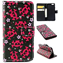 """iphone 6 plus Case, iphone 6 (5.5"""") Case, Trees Camo Durable Premium PU Leather Flip Folio Book Style Wallet Protective Skin Pouch Phone Case & Magnetic Closure with Credit/ID Card Slot (A25)"""