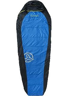 Ternua ® Camplight 60 Saco de Dormir, Unisex Adulto, Azul/Negro, Talla