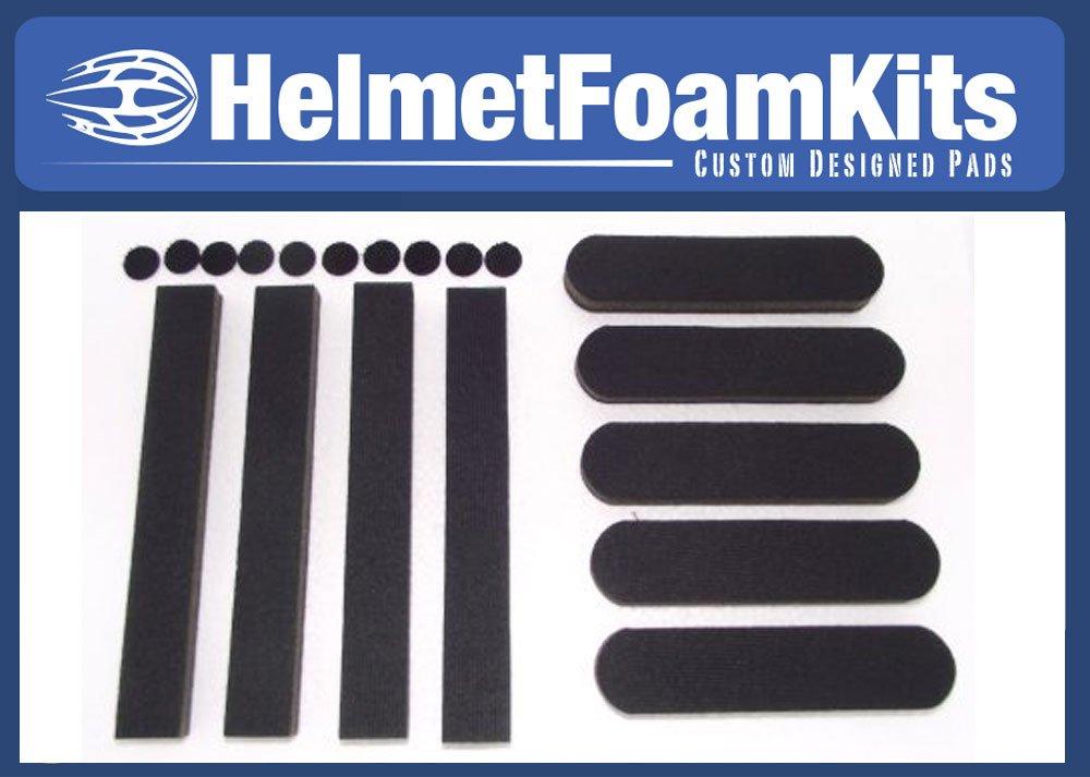Ersatz Schaumstoff Helm Pads Universal Kit Fahrrad Skating von Helm Schaumstoff Kits