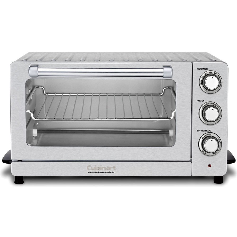 Cuisinart Toaster Oven Broiler with Convection TOB-60NFR Renewed