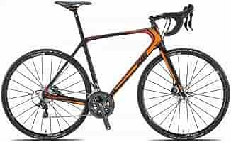 Bicicleta KTM Revelator Sky CD, de carbono, color naranja y rojo ...