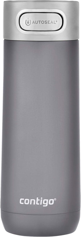 Contigo Luxe AUTOSEAL Vacuum-Insulated Travel Stainless Steel, 16 oz, Mussel Mug