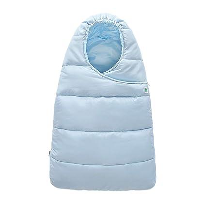 Color Sólido Recién Nacido Impermeable Fuera Abrazo Bebé Manta De Dormir Bolsa De Dormir Apto para
