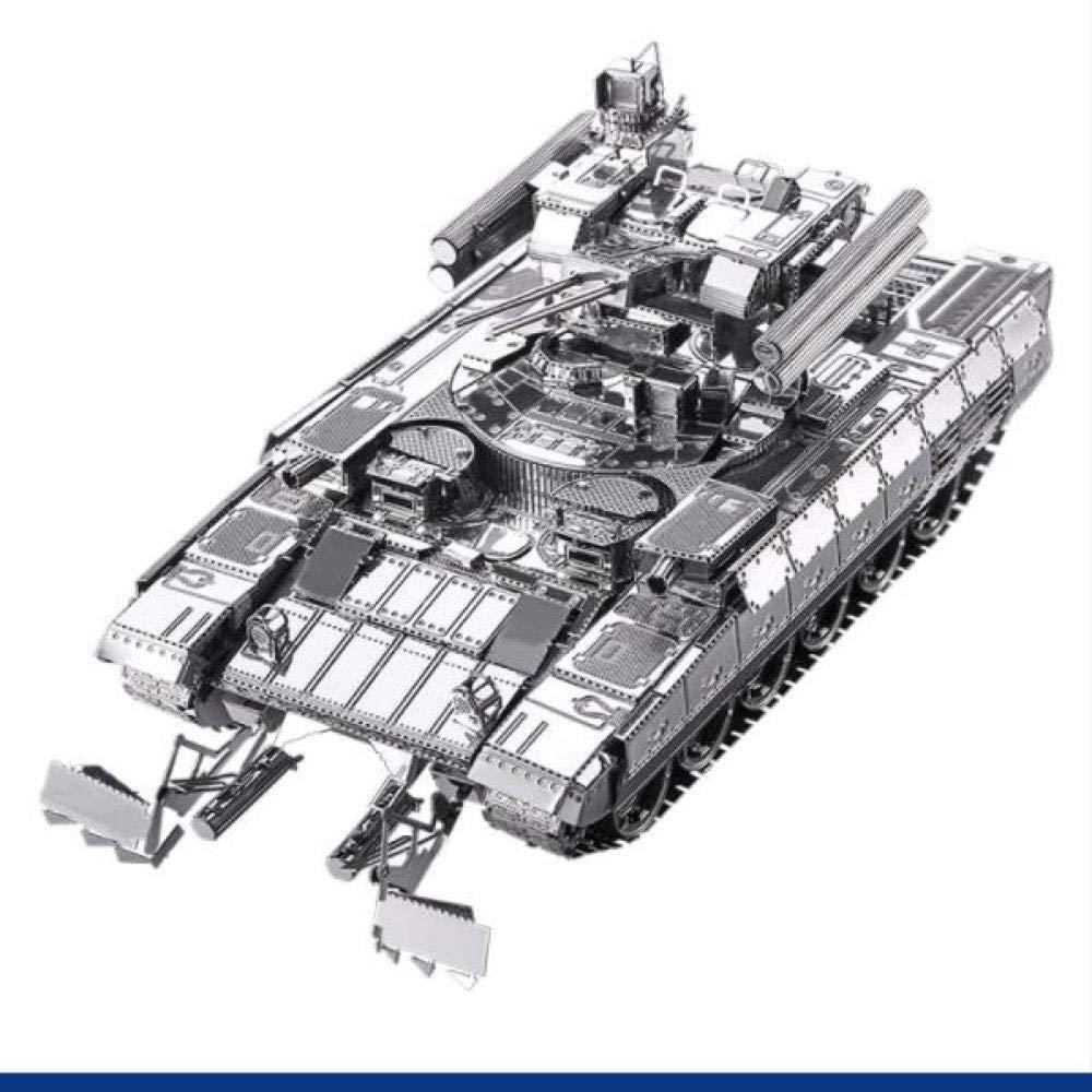 MQKZ Rompecabezas Tridimensional 3D BMPT Tanque Kit de Metal ...
