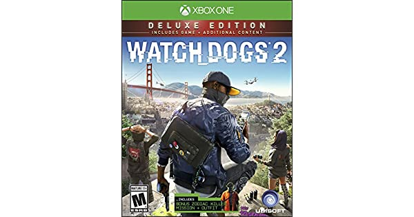 Amazon com: Watch Dogs 2: Deluxe Edition (Includes Extra