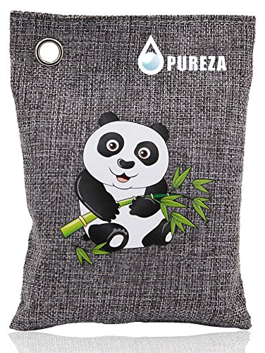 Nature Fresh Air Purifying Bag. Odor Eliminator for Cars, Closets, Bathrooms and Pet Areas.Bamboo Charcoal Bags, Captures and Eliminates Odors. By Pureza, Pack of 1 by Pureza