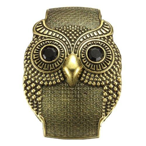 Vintage 50mm Width Wide Owl Women Cuff Bracelets Bronze Bronze Cuff Bracelet
