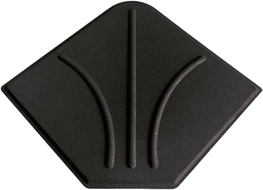 Aktive Garden 53901 - Loseta Cemento para Sombrilla, 47 x 47 x 4.5 cm, 20 Kg