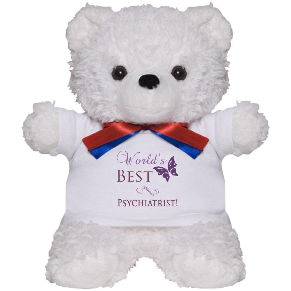 Amazon com: CafePress - World's Best Psychiatrist - Teddy
