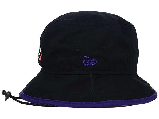 Amazon.com   Charlotte Hornets New Era NBA Hardwood Classics Black Purple  Tipped Bucket Boonie Hat   Sports   Outdoors 71906910efb1