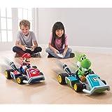 The RC Mario Kart Racers - Mario and Yoshi